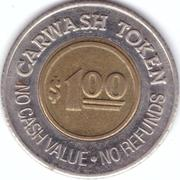 1 Dollar Car Wash Token - T.L.C. – reverse