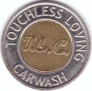 1 Dollar Car Wash Token - T.L.C. – obverse