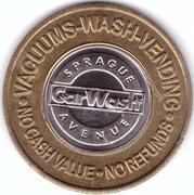 1 Dollar Car Wash Token - Sprague (Tacoma, Washington) – obverse