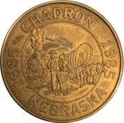 Token - Centennial Chadron, Nebraska – obverse