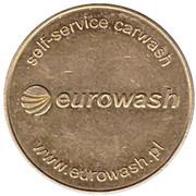 Car Wash Token - Techno-ekol Eurowash (Dmitrov) – reverse