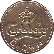 Beer Token - Carlsberg Crown – obverse