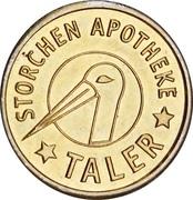Storchen Taler - Storchen Apotheke – obverse