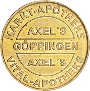1 Bonus-Taler - Markt Apotheke & Vital Apotheke (Göppingen; Rathaus) – obverse