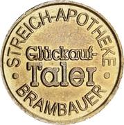 Glückauf Taler - Streich Apotheke (Brambauer) – obverse