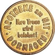 Hit Taler - Apotheke am Hit (Dormagen) – obverse