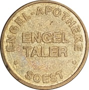 Engel Taler - Engel Apotheke (Soest) – obverse