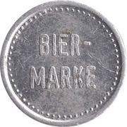 Beer Token - Bier-Marke (Kronen-Brauerei Laupheim) – reverse