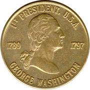 Token - George Washington (1st President) – obverse