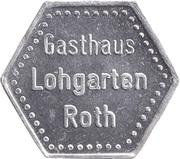 1 Liter Bier - Gasthaus Lohgarten (Roth) – obverse