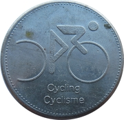 Token - Olympic Trust of Canada (Cycling) – obverse