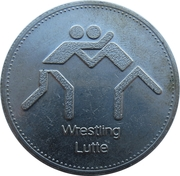 Token - Olympic Trust of Canada (Wrestling) – obverse