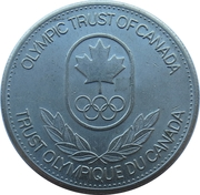 Token - Olympic Trust of Canada (Nordic Skiing) – reverse
