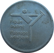 Token - Olympic Trust of Canada (Figure Skating) – obverse