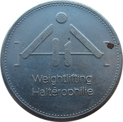 Token - Olympic Trust of Canada (Weightlifting) – obverse