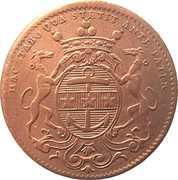 Token - États de Bourgogne (Maire de Dijon Philibert Baudot) – obverse