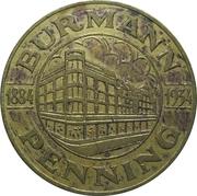 50 Cent - Burmann Penning (1884-1934) – obverse