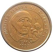 Millennium Medal Collection - Mother Teresa – obverse