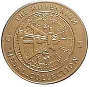 Millennium Medal Collection - WWII – reverse