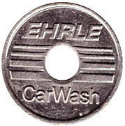 Car Wash Token - Ehrle – obverse