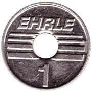 Car Wash Token - Ehrle – reverse