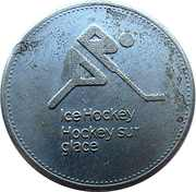 Token - Olympic Trust of Canada (Ice Hockey) – obverse