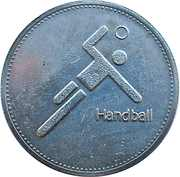 Token - Olympic Trust of Canada (Handball) – obverse