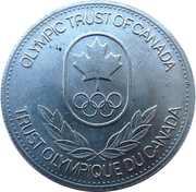 Token - Olympic Trust of Canada (Handball) – reverse