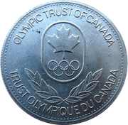 Token - Olympic Trust of Canada (Basketball) – reverse