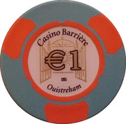 1 Euro - Casino Barriere (Ouistreham) – reverse