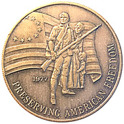 Token - Preserving American Freedom – reverse