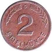 2 Spielmünze (Play Money) – reverse