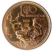1 Euro - Savines-le-Lac – reverse