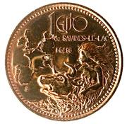 1 euro de Savines-le-lac (05) – obverse
