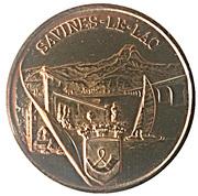 1 euro de Savines-le-lac (05) – reverse