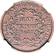 Cent - May Tenth – reverse