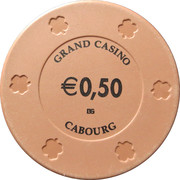 50 Cents - Grand Casino (Cabourg) – reverse