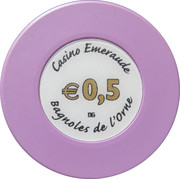 50 Cents - Casino Emeraude (Bagnoles-de-l'Orne) – reverse