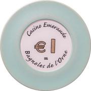 1 Euro - Casino Emeraude (Bagnoles-de-l'Orne) – obverse