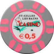 50 Cents - Casino St-Gilles les Bains – obverse