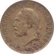 Spiel Marke (Wilhelm I) – obverse