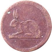 Spiel Marke (Rabbit) – obverse