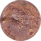 Spiel Marke (Caduceus; 17.4 mm) – obverse