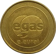 Car Wash Token - Egas (Green power) – obverse