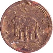 Spiel Marke (Elephant) – obverse
