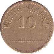 10 Pfennig (Werth-Marke; other font) – obverse