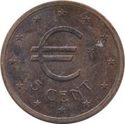 5 Euro Cent (Churriana) – obverse