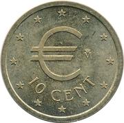 10 Euro Cent (Churriana) – obverse