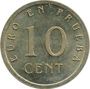10 Euro Cent (Churriana) – reverse