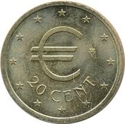 20 Euro Cent (Churriana) – obverse
